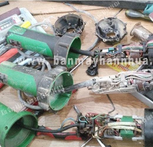 Sửa chữa máy hàn nhựa cầm tay Triac ST