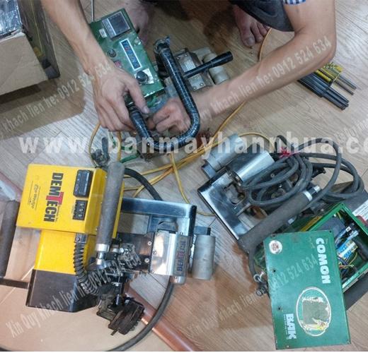 Sửa chữa máy hàn nhựa demtech