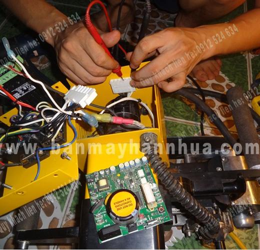 Sửa chữa máy hàn nhựa tự động Demtech Pro XL