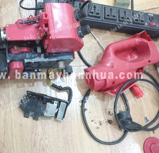Sửa chữa máy hàn bạt nhựa - máy ép bạt nhựa jit 800, rft 501